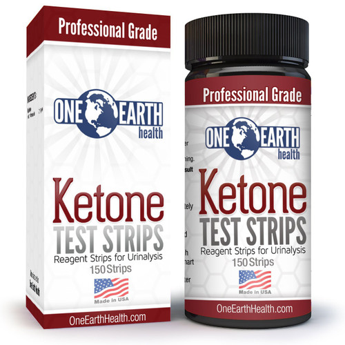 Ketone Strips (USA Made, 150 Count): Accurate Ketosis Urine Test Strips For Keto Diet and Ketogenic Measurement. Lose Weight With Confidence