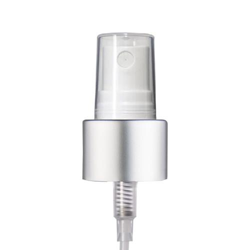 20-400 White Silver Fine Mist Sprayer fits 1 & 2 oz Bottles