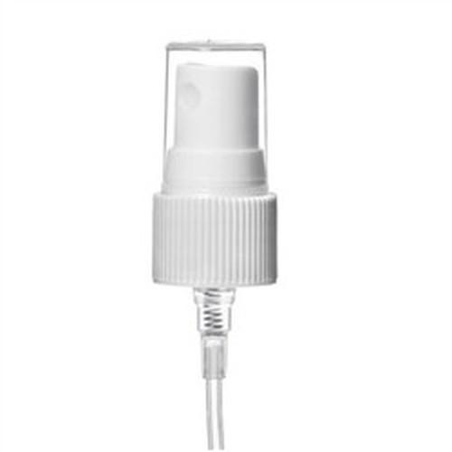 24-410 White Fine Mist Sprayers fits 4 & 8 oz Plastic Bottles