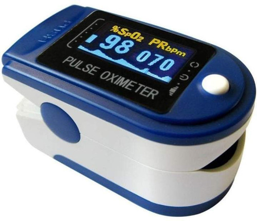 Contec Fingertip Digital Pulse Oximeter - Accurate Oxygen Readings