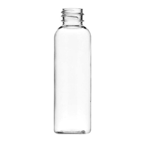 ($.29 ea Pk 1120) 2 oz clear PET cosmo round bottle with 20-410 neck finish