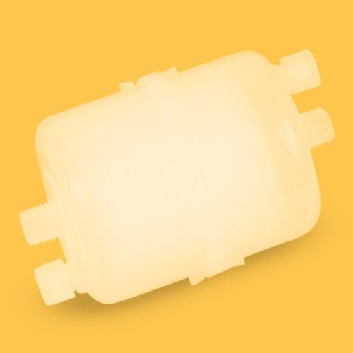 MCE Capsule Filter, 1 um, 67mm, 112mm long, 1/4 in. MNPT, Nonsterile, 1 per pack
