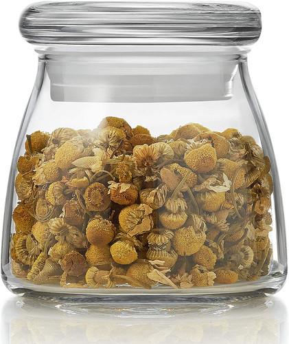 Vibe Mini Glass Jars with Lids, Set of 12