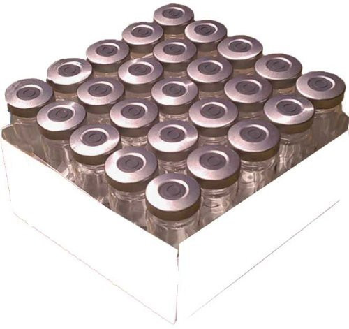 10mL Sterile and Sealed Clear Glass Vial - 25 Pack (Silver)-1612663165