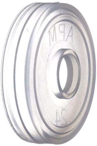 144-PACK DRIPPER INSERT ORIFICE REDUCERS FOR HOT SAUCE BOTTLES - 5 OZ WOOZY BOTTLES (LDPE 24/400)
