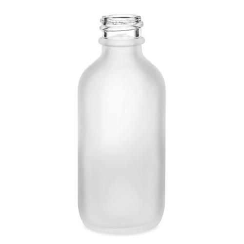 2 Oz Frosted Glass Bottle Bottle