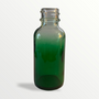 1 oz Green-shaded clear glass bottle - Case of 180