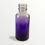 1 oz Purple-shaded clear glass bottle - Case of 180
