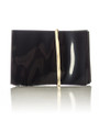 68x55 Black PVC perforated shrink band for 38 mm neck finish