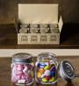 2 oz, Mason Jar Shot Glasses with Lids (Set of 8)  Mini Mason Shooter Glass