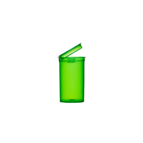 225 Pcs 19 Dram Green Pop Top Containers Full Cases Best