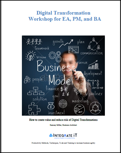Digital Transformation Workshop for EA, PM and BA
