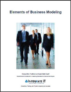 Elements of Business Modeling