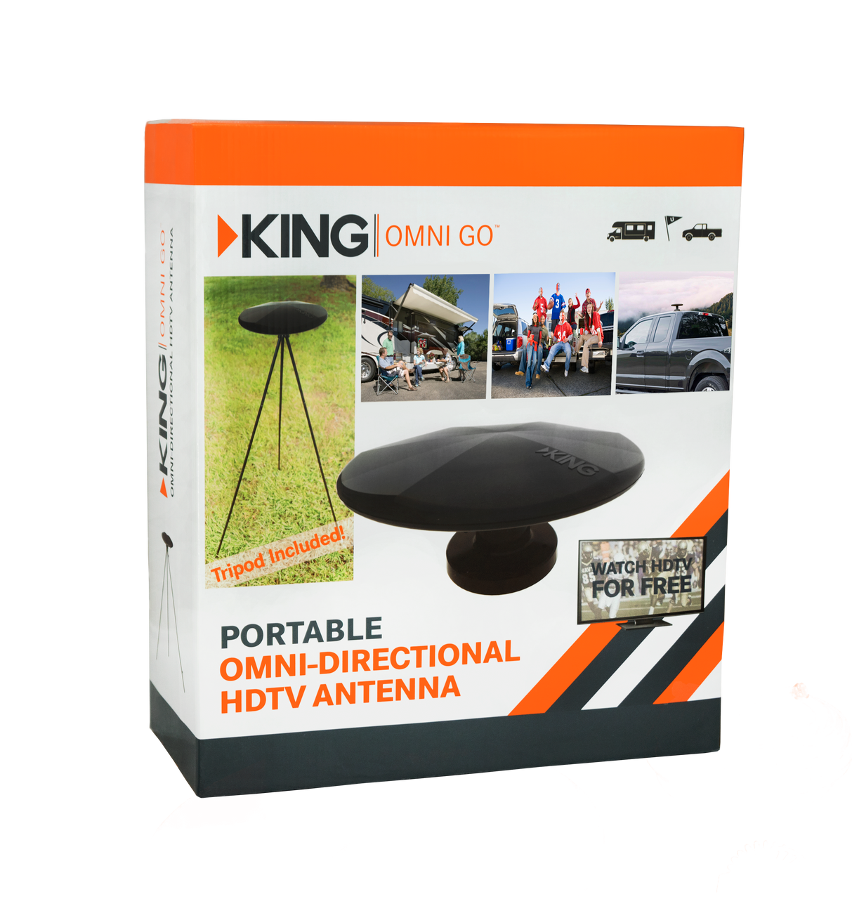 KING OmniGo™ Portable OmniDirectional OTA HDTV Antenna