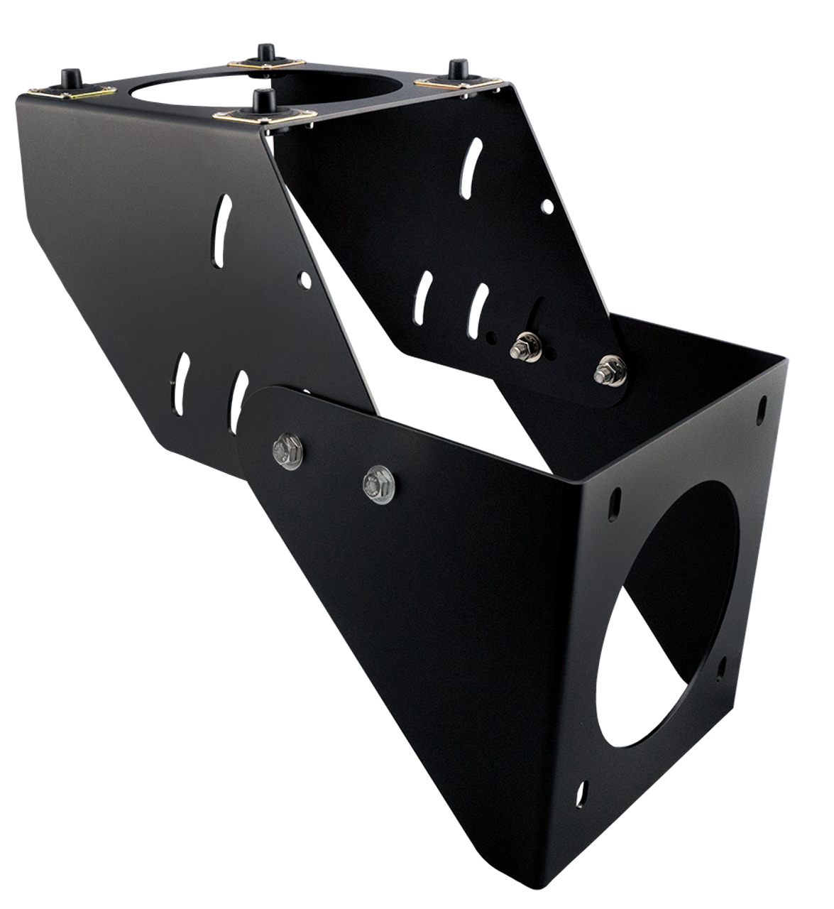 Cab Mount Bracket with Vibration Isolation