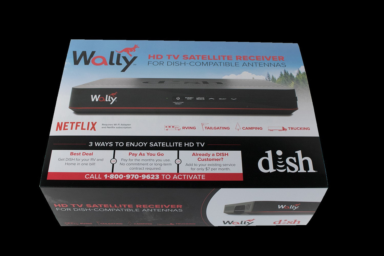 DISH® Wally® Receiver, Offered by KING