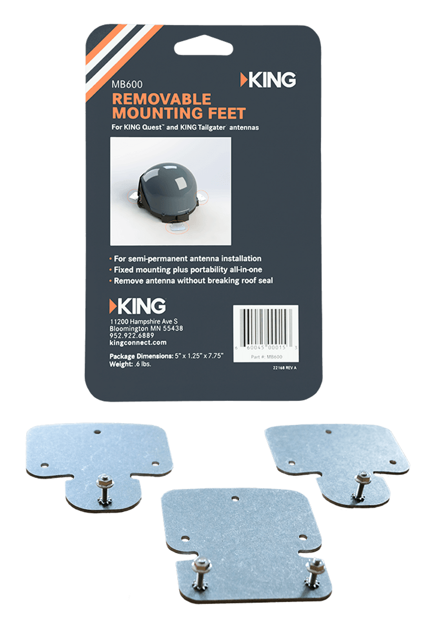 Removable Roof Mounting Feet