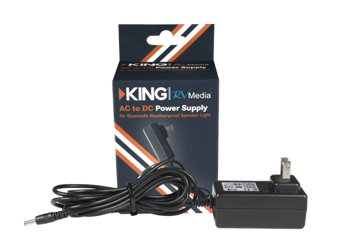 AC to DC Power Supply for RV Media Bluetooth Speakers