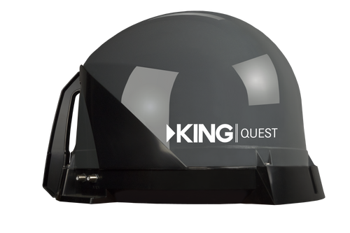 KING Quest™ - Factory Refurbished - Portable Satellite TV Antenna