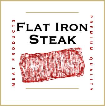 Flat Iron Steak, a tender steak