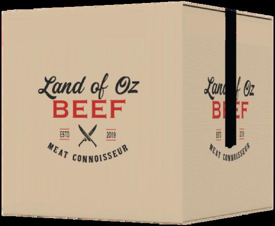 Bulk box, top sirloin steak, NY strip steak, roast, flank, round steak