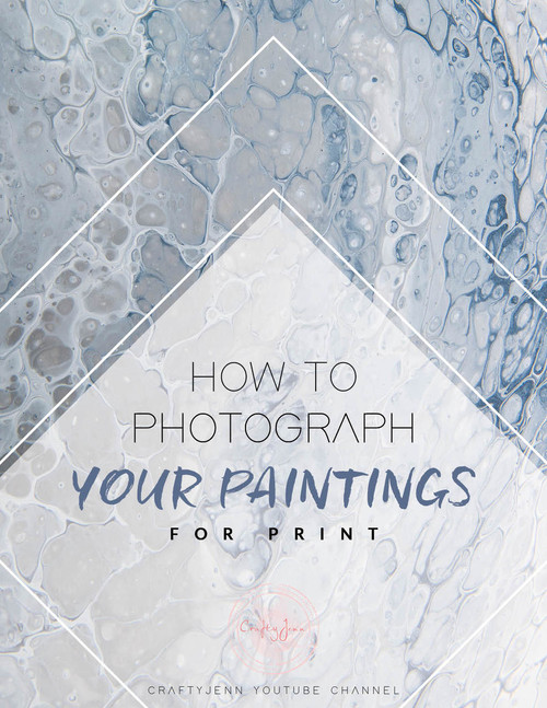How to Photograph your Paintings for Print