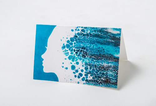 Ocean Goddess Art Card