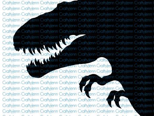 Dinosaur Silhouette Vinyl Decal