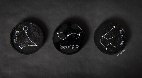 Zodiac Constellation Coaster