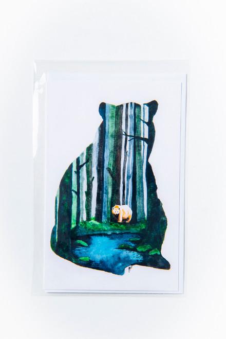 Spirit Bear (Kermode) Art Card