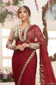 Maria B Mbroidered Eid 2021 D-07
