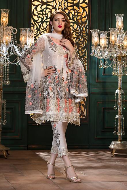 Ramsha Embroidered Chiffon  Vol 13  F-1310