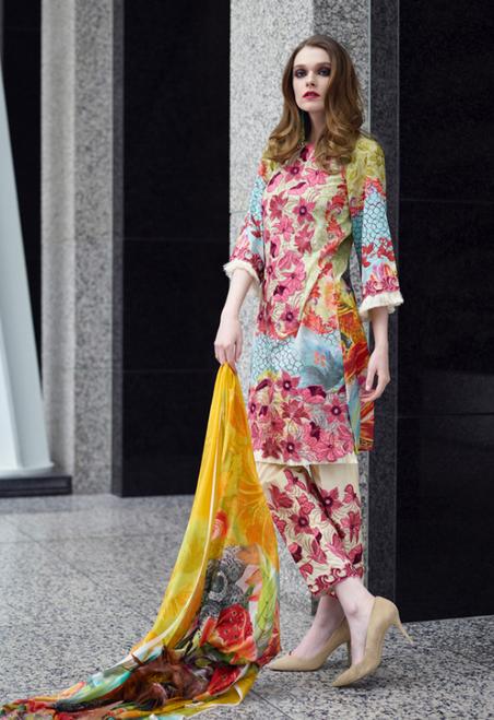 Shibori Luxury Embroidered  SLE-01