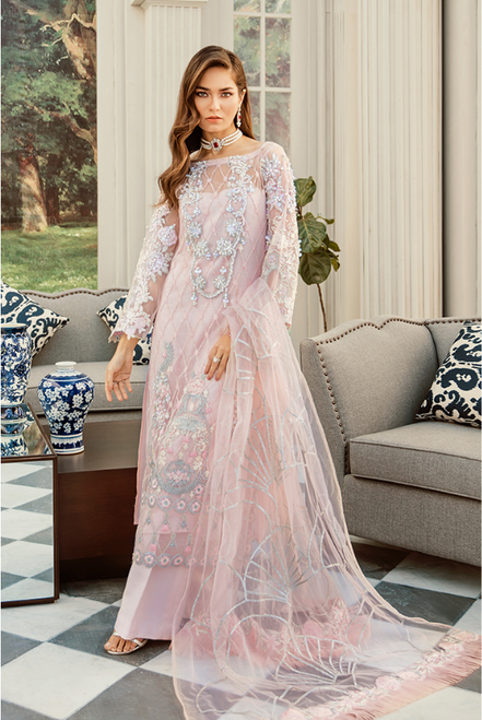 Rouche Embroidered Luxe RLC-01 ETOILE ROSE