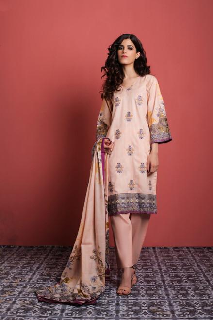 Sahil Embroidered Lawn Vol-02  ZS-05B