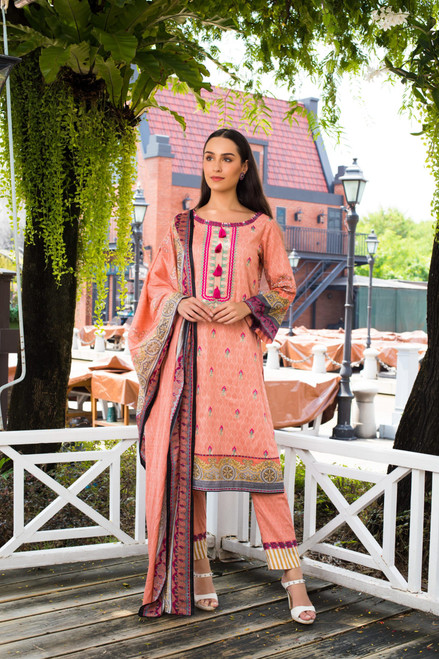 Sahil Embroidered Lawn Vol-02  ZS-04B