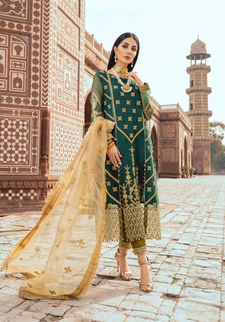 Sanaya Luxury Chiffon  SS-001 (MADHUBHALA)