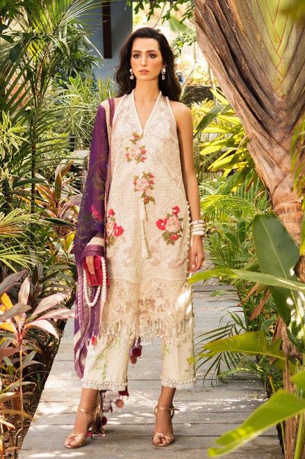 Sana Safinaz Luxury Lawn 2020 D-012B