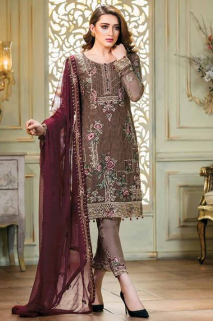Ramsha Embroidered Chiffon Vol 14 F-1404