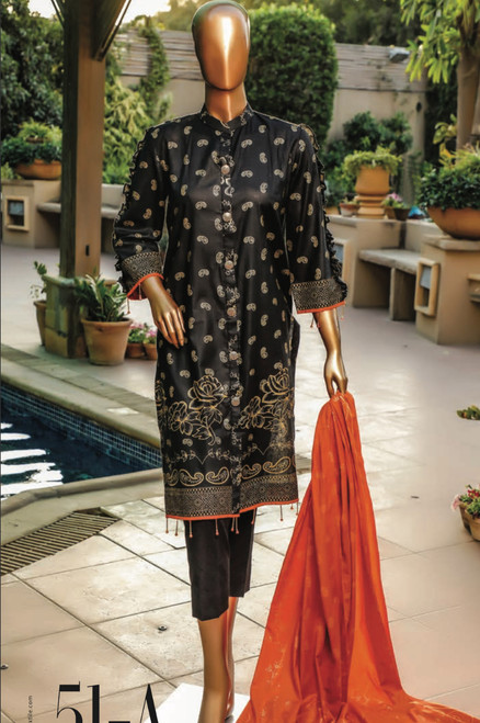 Ayesha Hiba Banarsi Lawn 51-A