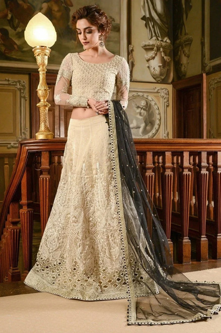 Maria B Mbroidered Wedding Edition MBD-01