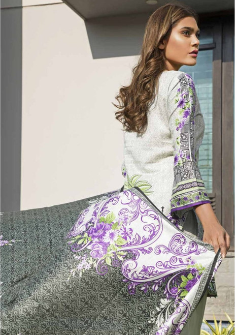 Rangreza Embroidered Lawn  REL-02A