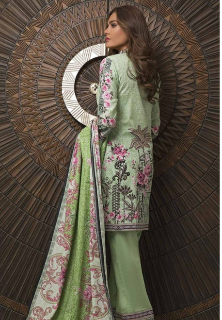 Rangreza Embroidered Lawn  REL-02B
