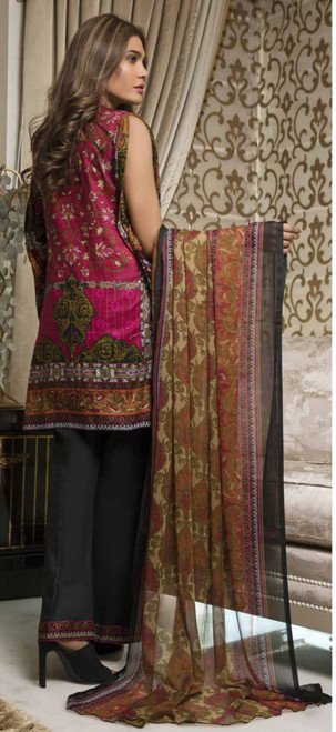 Rangreza Embroidered Lawn  REL-05B