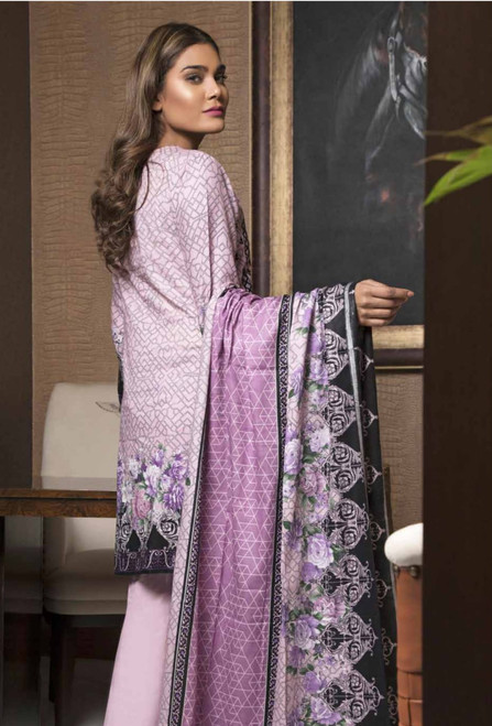 Rangreza Embroidered Lawn  REL-06B