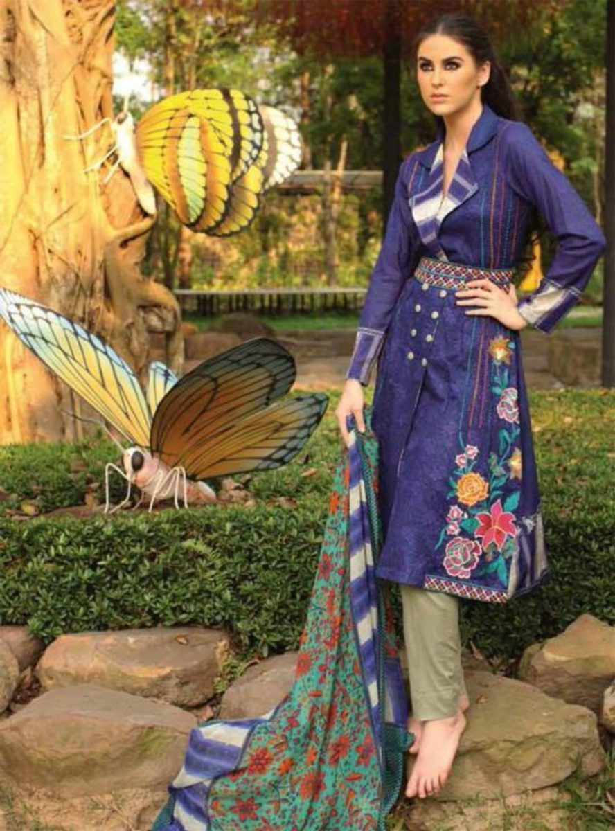 Libas Embroidered Lawn ST-11A