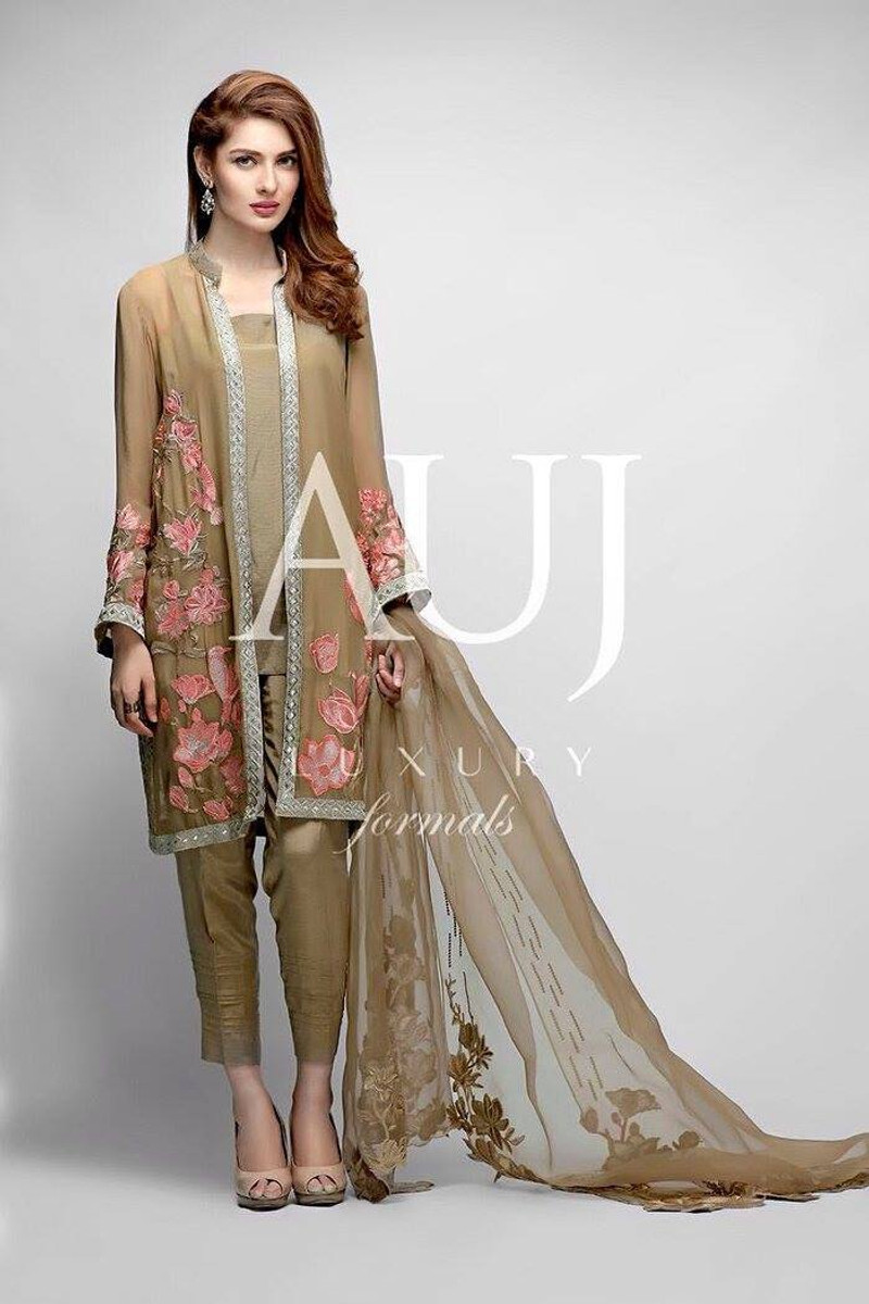 Auj Embroidered Luxury AUJ-09