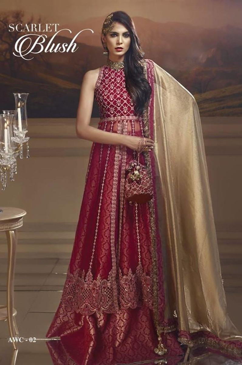 Anaya Wedding Edition AWC-02 SCARLET BLUSH