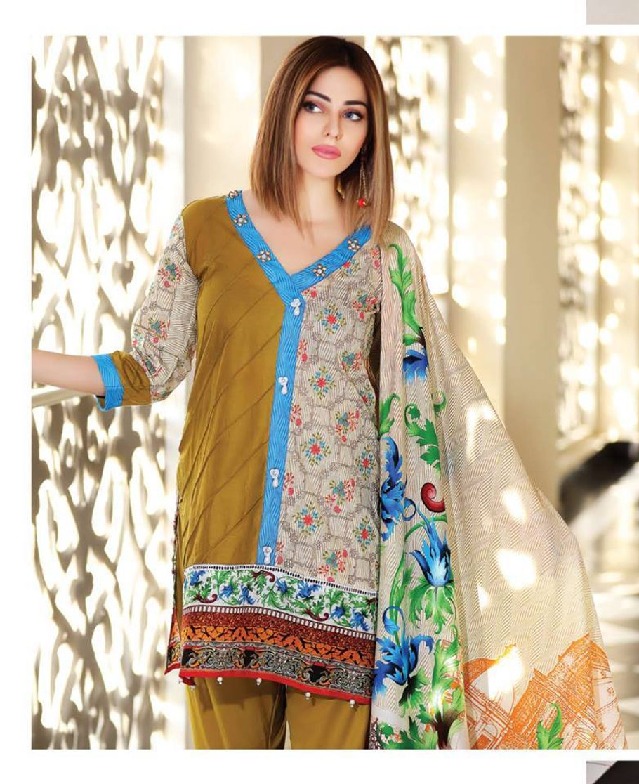 Azra Embroidered 10B