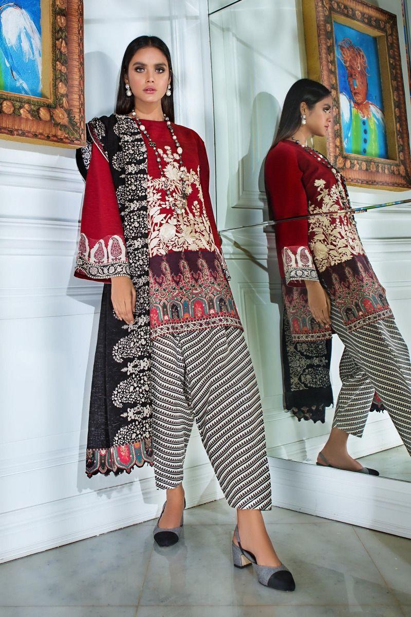 Sana Safinaz Mahay H192-007A-CR